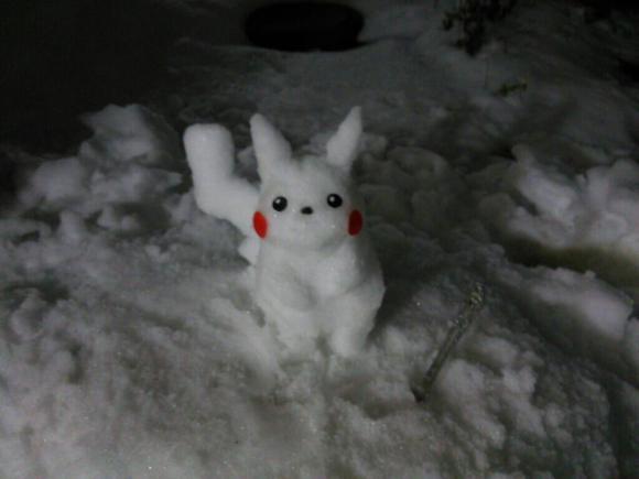 Snow Pikachu2