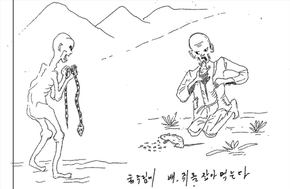 Survivor of North Korean gulags makes wrenching drawings of what happens inside5