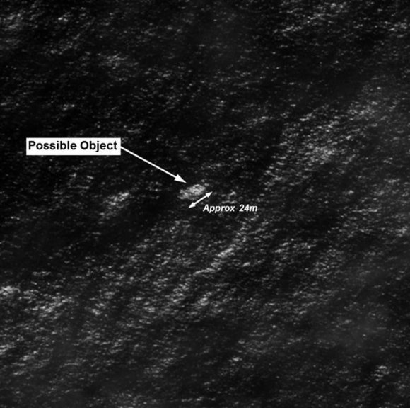 Here's a satellite photo of debris that could be from the missing plane2