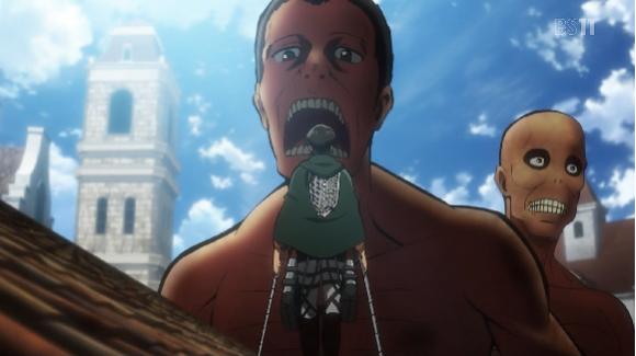 AoT giant and human