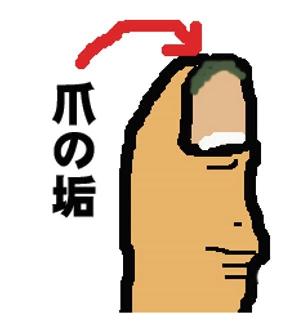 kotowaza 爪の垢