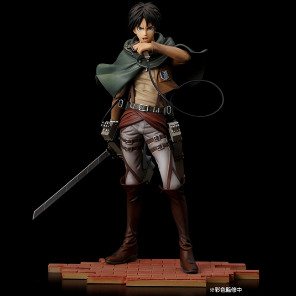 Pulchra's new Mikasa figure dodges hand of Titan2