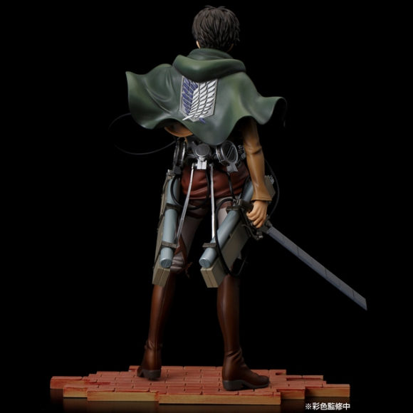 Pulchra's new Mikasa figure dodges hand of Titan3