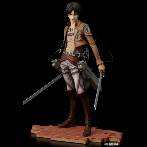Pulchra's new Mikasa figure dodges hand of Titan4