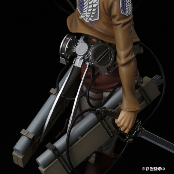 Pulchra's new Mikasa figure dodges hand of Titan5