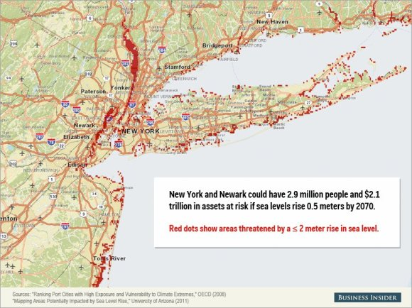 Rising sea levels could cause staggering damage to these cities8