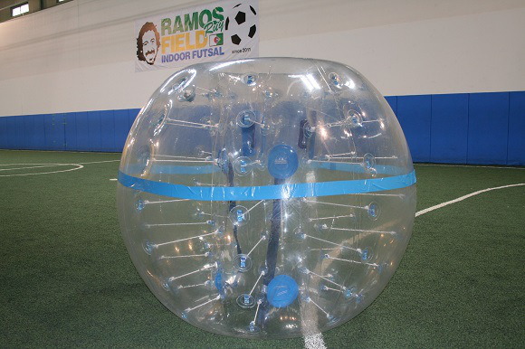 We try %22Bubble Soccer%222