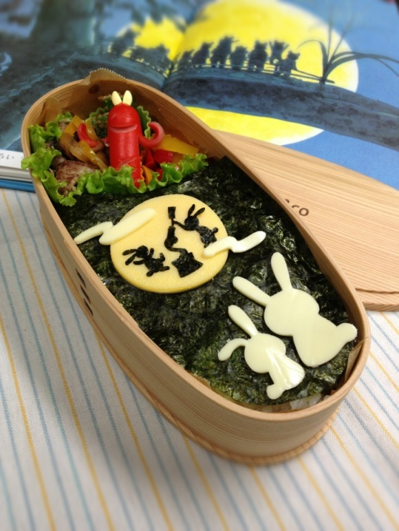 We're not going to lie…these sausage people in Japanese bento freak us out2