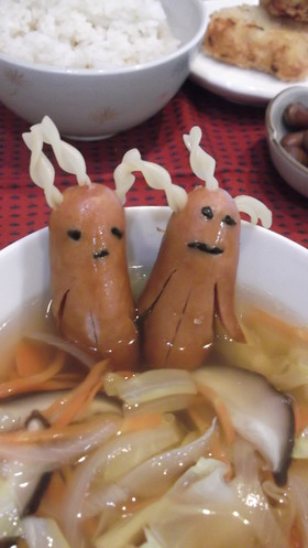We're not going to lie...these sausage people in Japanese bento freak us out10