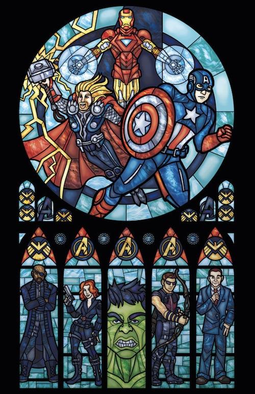 glass avengers