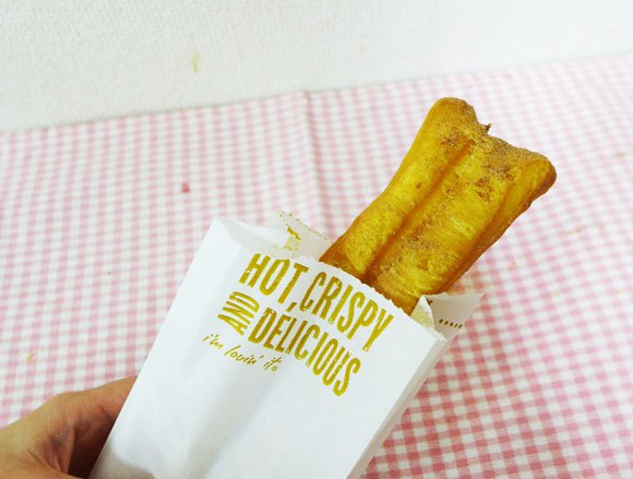 We try churros from McDonald's Japan7