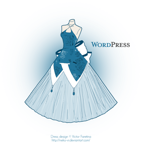 wordpress_in_fashion_by_neko_vi-d4yvhz8