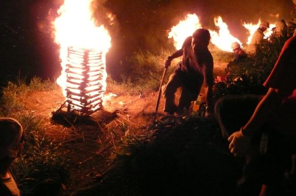 Kyoto, Japan, Gozan Okuribi O-Bon Festival, August, bonfire, daimonji, 五山送り火 大文字 祭り