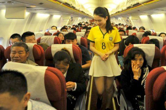 flight attendant brazil world cup jersey2