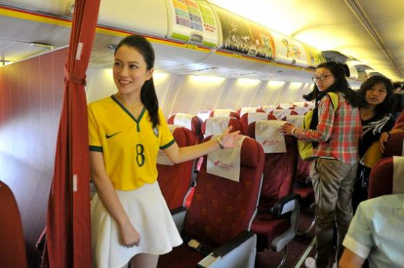 flight attendant brazil world cup jersey3