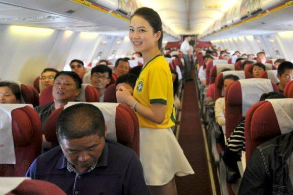 flight attendant brazil world cup jersey4