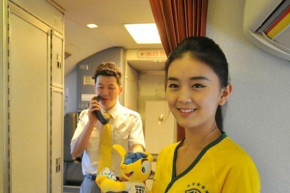 flight attendant brazil world cup jersey6