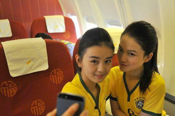 flight attendant brazil world cup jersey7
