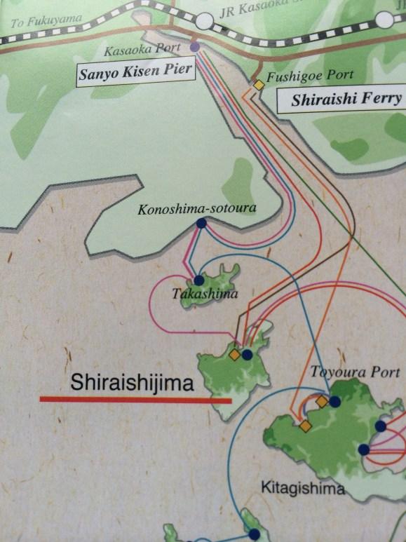 English map