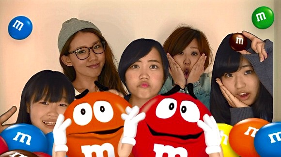 Purikura photo sticker, M&M's Friends Maker campaign