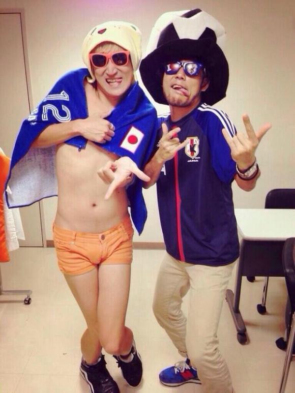 Team Japan soccer fans2