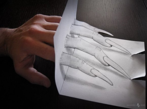 19 pencil drawings that trick your mind into thinking they're 3-D6