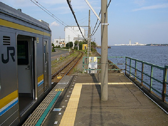海芝浦駅 (2)