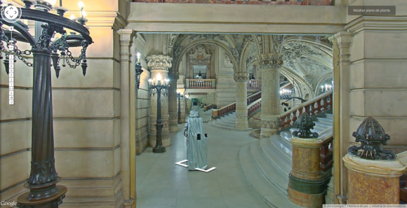 Google's Street View cameras are taking spooky selfies in museums around the world3