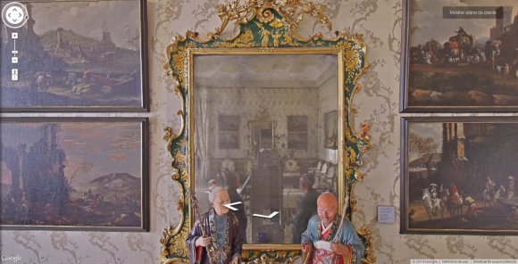 Google's Street View cameras are taking spooky selfies in museums around the world8