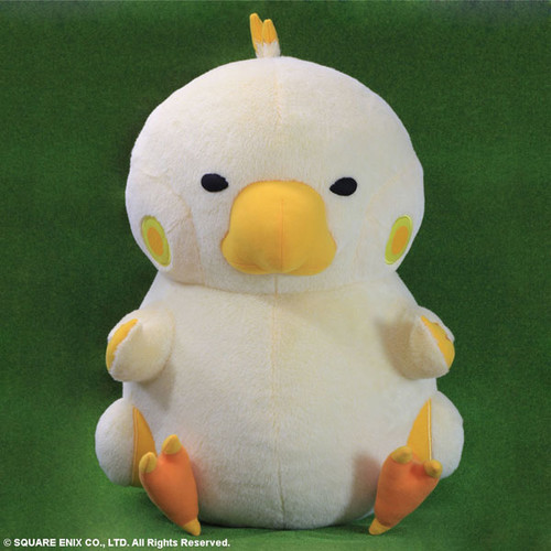 Chubby Chocobo Plush Is As Round As He Is Adorable