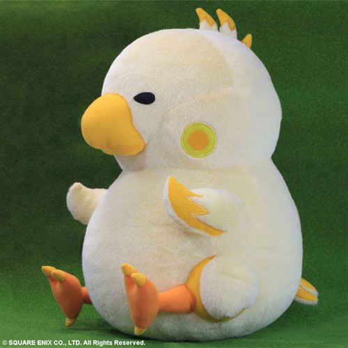 Chubby Chocobo Plush Is As Round As He Is Adorable2