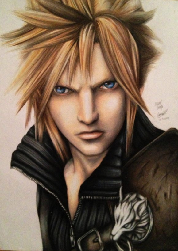cloud_strife__drawing_by_polaara-d61o9xm