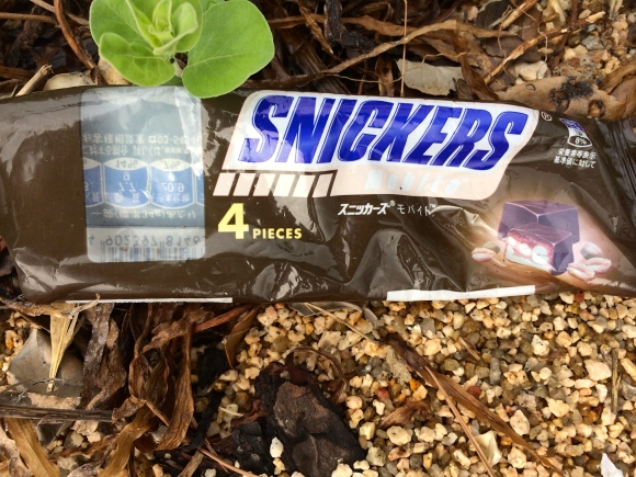 Snickers wrapper