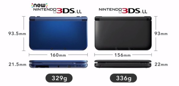 Nintendo unveils new 3DS models with more controls, NFC support5