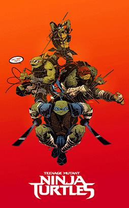 Paramount Pictures project asks artists to reimagine Ninja Turtles as kappa2