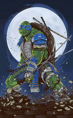 Paramount Pictures project asks artists to reimagine Ninja Turtles as kappa6