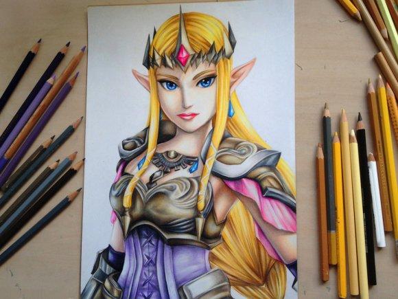 princess_zelda___hyrule_warriors_by_polaara-d7tz95n