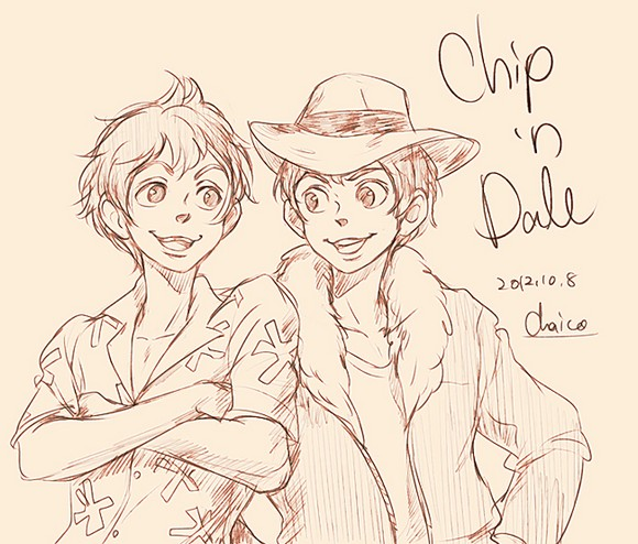 chip___n_dale_by_chacckco-d5ha68o