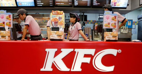 KFC is counting on these new menu items to save business in China