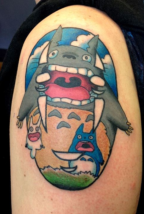 Check Out These Amazing Ghibli Inspired Tattoos Soranews24 Japan News