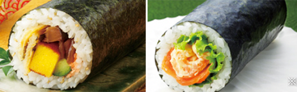 7-11 7-eleven sushi roll ehou-maki setsubun