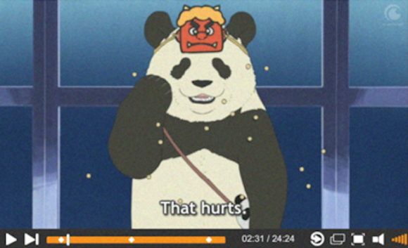 polar bear cafe bean throwing screenshot