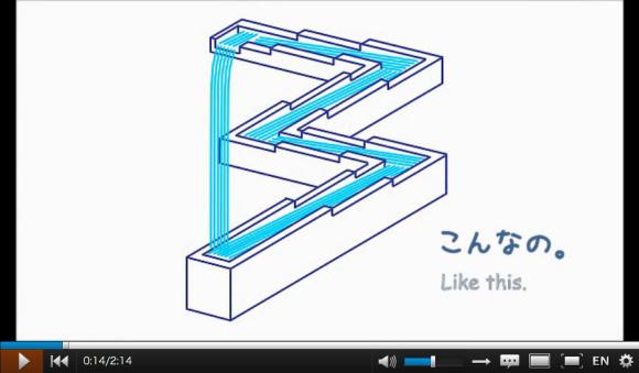 perpetual motion machine design, paper construction, niconico video