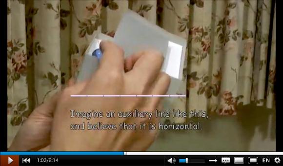 perpetual motion machine, optical illusion, paper construction, niconico video