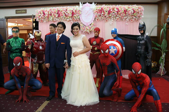 superherowedding