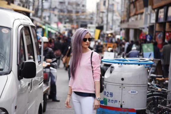 fashion vlogger top