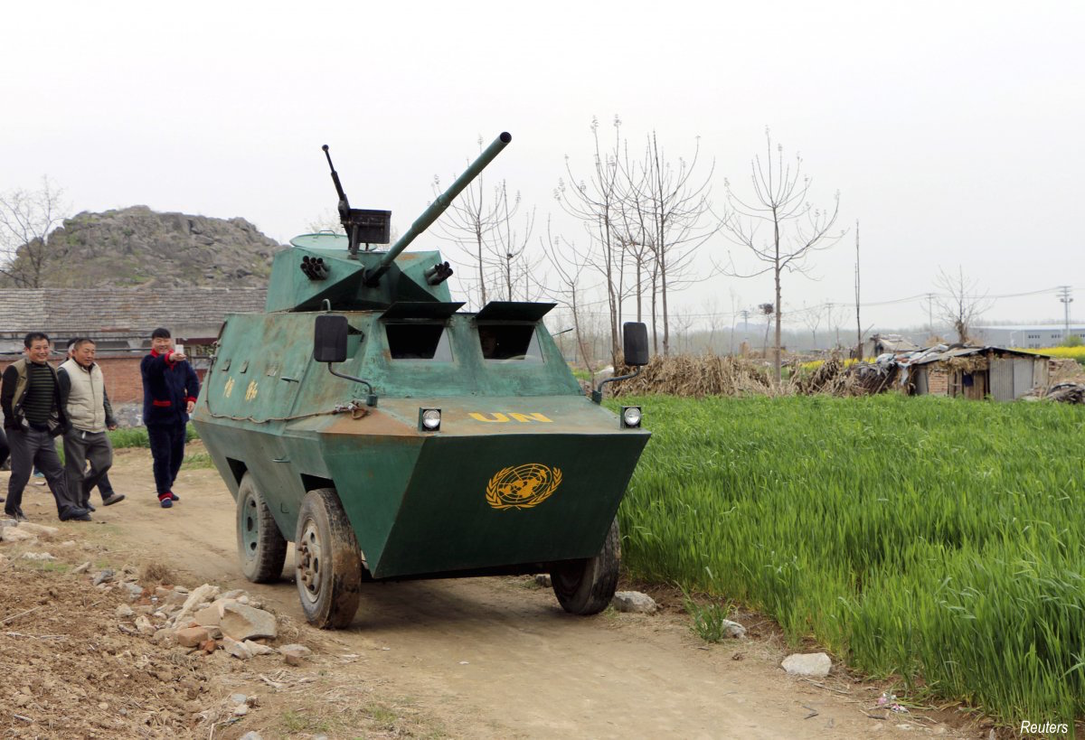 meanwhile-liu-shijie-a-35-year-old-farmer-from-the-huaibei-anhui-province-took-six-months-and-spent-30000-yuan-3074-4850-to-make-a-homemade-armoured-vehicle