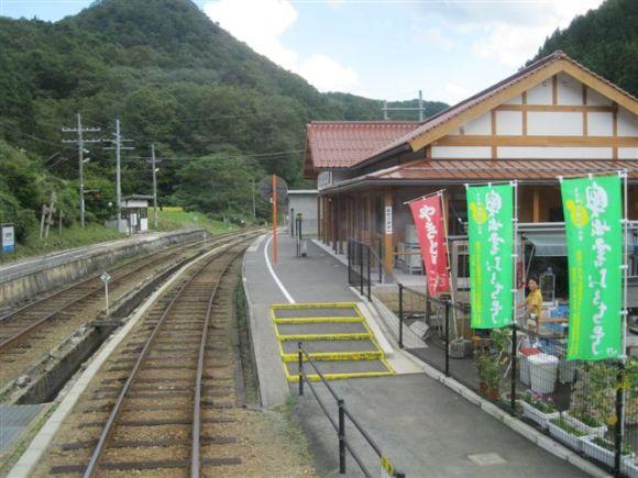 157 Izumo Sakane station 13.9.11
