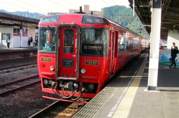 176 Trans-Kyushu Express at Beppu 15.9.11