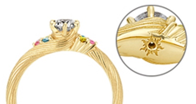 Celebrate Your Love In Style With Disney S Tangled Inspired Engagement And Wedding Rings Soranews24 Japan News